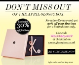 Glossybox promotion